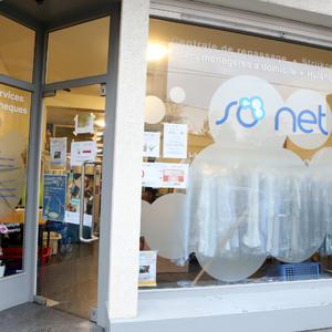 So Net - Centrale de repassage